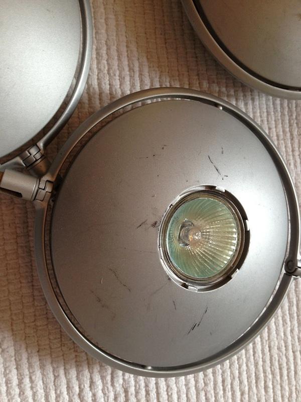 riesen set ikea norrsken stratosf r ufo seilsystem halogen 7 lampen ebay. Black Bedroom Furniture Sets. Home Design Ideas